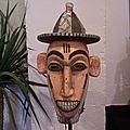 Exposition de masques africains au festival des affranchis à la flèche le 7 juillet 2007 (2)