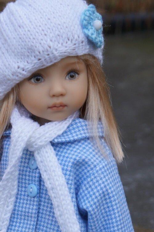 La vie en bleu pour Pauline ! Little darling de Lana Dobbs