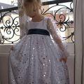 Robe de princesse devant