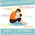 PAS FACILE D'ÊTRE <b>PARENTS</b>!