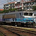 BB 7202 'En Voyage' arrivant à Hendaye