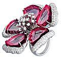 <b>Sifen</b> <b>Chang</b>. Tourmaline and Diamond Ring