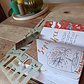 Bullet journal : set up du mois de septembre : Anne Shirley vous reçoit sur son île