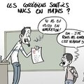 ps hollande ecole lycee math humour
