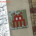 Space invader quelque part à paris