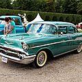 Chevrolet bel-air 4door sedan de 1957 (9ème Classic Gala de Schwetzingen 2011) 01