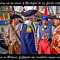 1782 rochefort fête le marquis de lafayette de retour de la guerre d'indépendance américaine