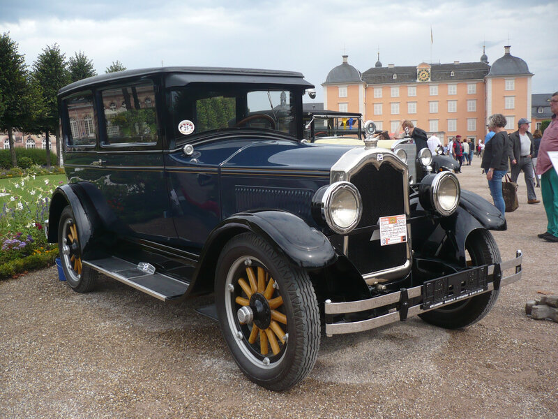 BUICK Model 20 Standard Six Five-Passenger Sedan 1927 Schwetzingen (1)