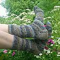Ma première paire de <b>chaussettes</b>