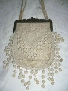 sac brodé main