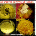 Galettes de pommes de terre de sophie dudemaine