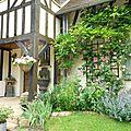 jardin et cottage au charme anglais