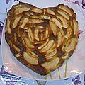 Gateau au mascarpone et aux pommes :)