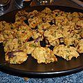 Mini cookies aux poivrons et oignons