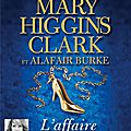 L'affaire cendrillon, de mary higgins clark & alafair burke