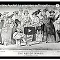 <b>Hubertine</b> <b>Auclert</b> La première suffragette - extrait du magazine