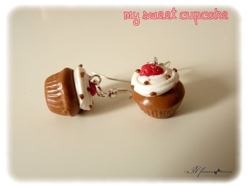 Boucles fraise chantilly