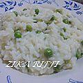 Risi e bisi... un risotto aux p pois