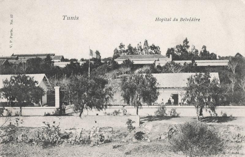 hôpital du Belvédère, Tunis (1)