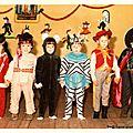 Fête d'école déguisée couleur (Le Havre, mai 1971)