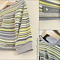 5-Ensemble gris vert amande salopette tee-shirt sweat sans manches12