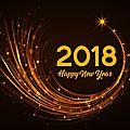 Bonne année et bonnes résolutions 2018