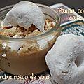 Panna cotta légère au café et son crumble de rosco de vino
