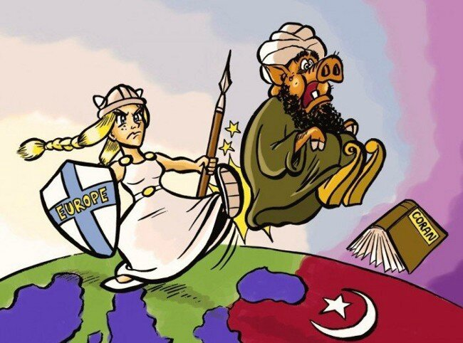EUROPA-KICKING-MUSLIMS-OUT