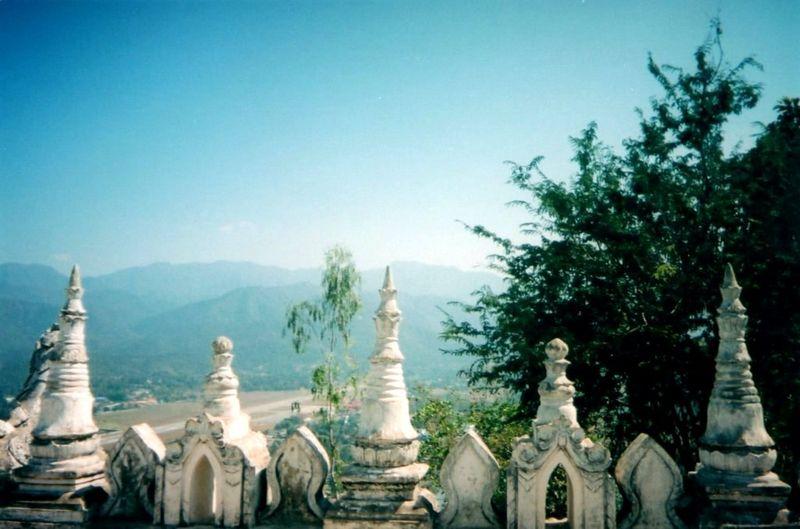 Vue du Phrathat Doi Kongmoo