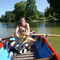 Lac Daumesnil Barque