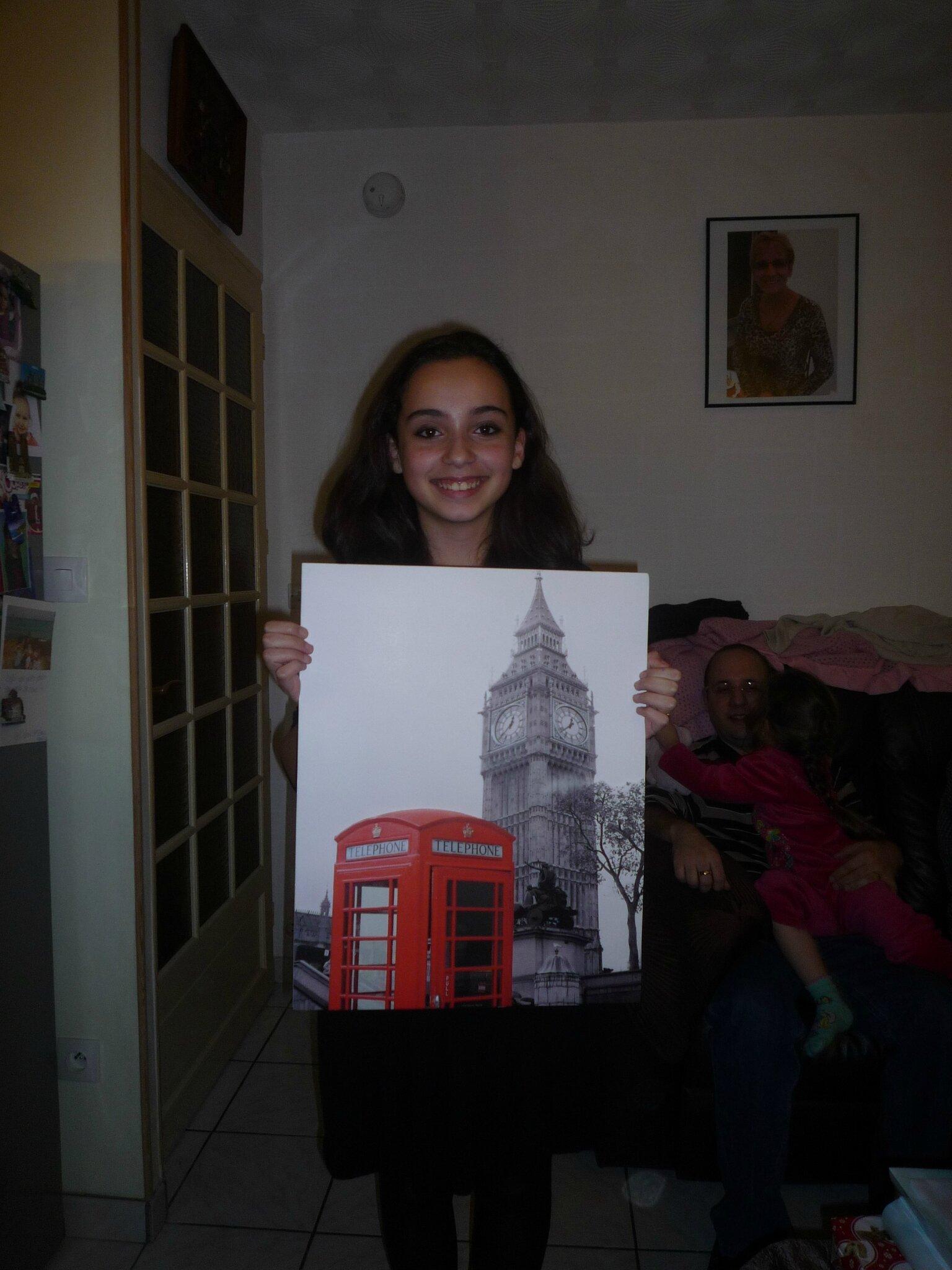 Tableau 3D Londres