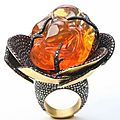 Yossi <b>Harari</b>. Fire Opal ring