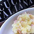 Purée de pomme de terre à la mozzarella et au jambon - à partir de 9 mois
