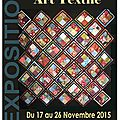 Expo patchwork mjc sceaux novembre