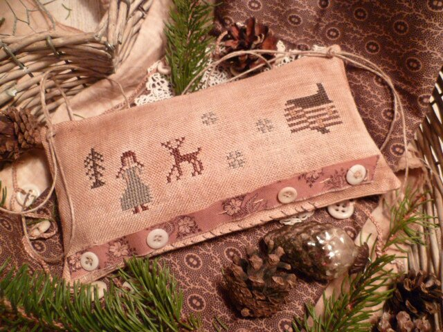 Winter in the Big Woods Pillow US$ 7.50