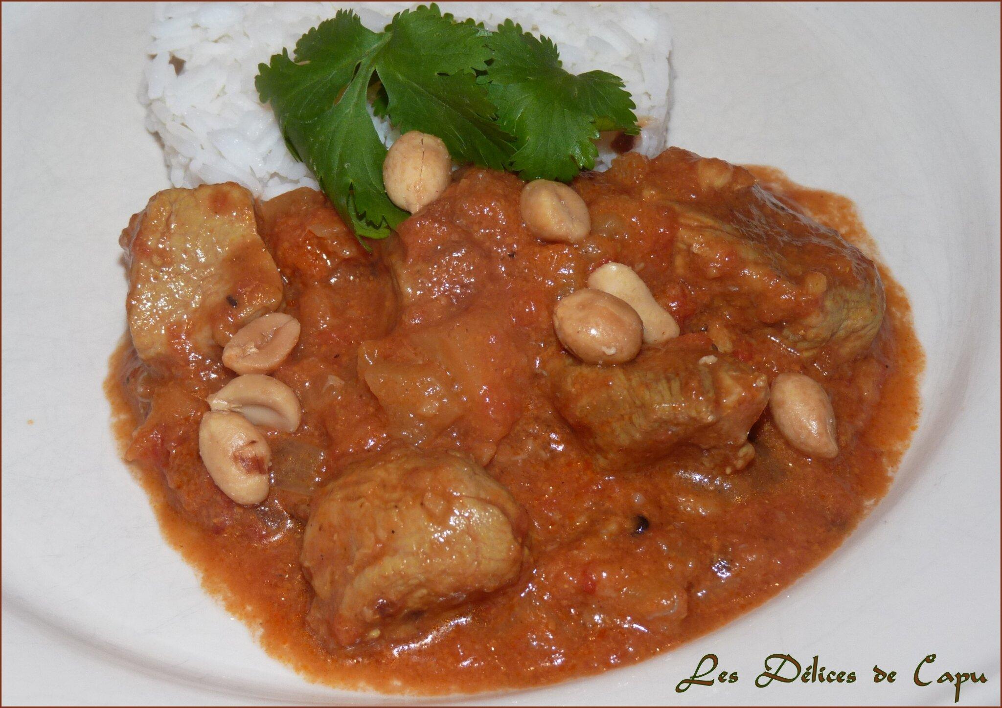 Curry de porc aux fruits3