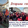 Mulhouse - De battre le pavé, mon cœur s'est relancé...