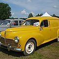 Peugeot 203 fourgonnette tôlée
