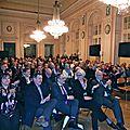 Conférence du grand rabbin de france haim korsia. grand salon de l'hôtel de ville de metz