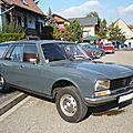PEUGEOT 504 break corbillard 1978 Lipsheim (1)