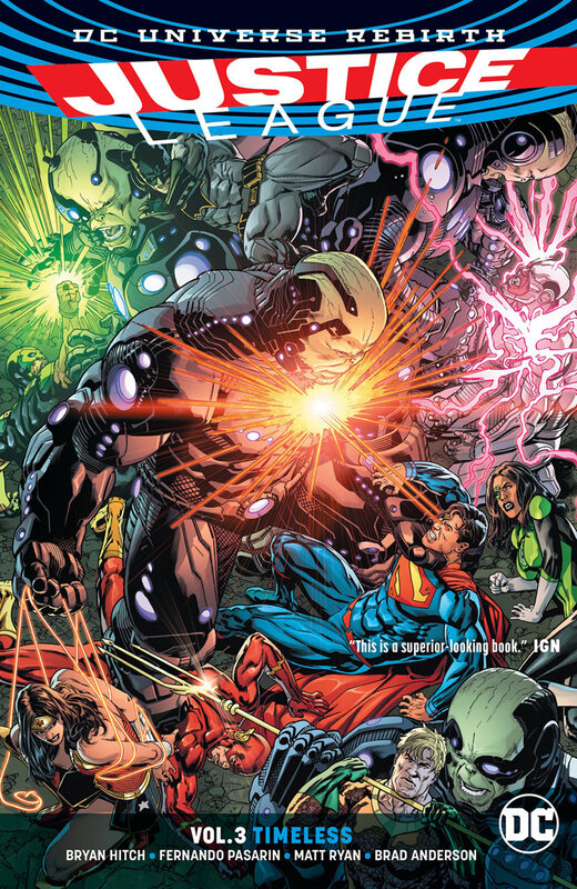 rebirth justice league vol 03 timeless TPB