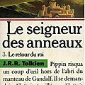 Le Seigneur des anneaux, tome 3 : Le Retour du roi (The Return of the King) - <b>J</b>. <b>R</b>. <b>R</b>. <b>Tolkien</b>