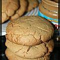 P'tits cookies au beurre de cacahuètes