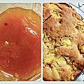 #recette : confiture de nectarine et cake aux nectarines