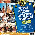 Bientôt : le festival Arelate à Arles