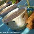 Crèmes aux petits-beurres