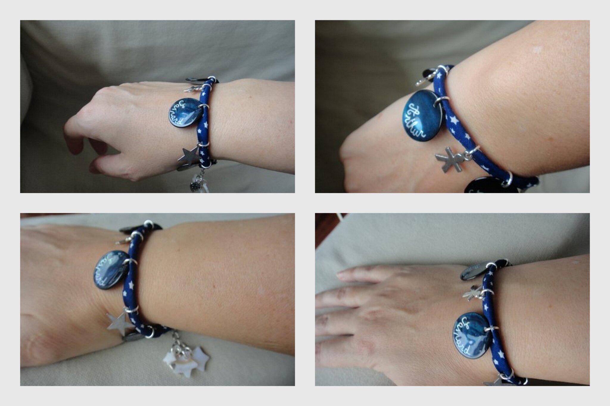 Le bracelet personnalisé de Delphine