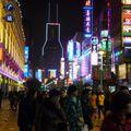 Shanghai - Nankin Lu by night