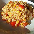 Pilaf de thon au maïs
