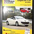 Revue Technique <b>Automobile</b>, Peugeot 207 + CC 04/2006 : Essence 1,4e 16v et 1,6i 16v THP et Diesel 1,4 Hdi 16v